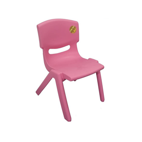 PINK BASIC PLASTIC CHILD CHAIR