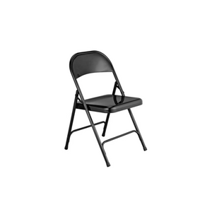 BLACK FOLDING ADULT CHAIR