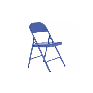 BLUE FOLDING ADULT CHAIR