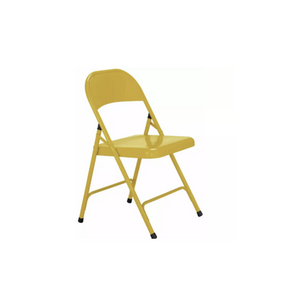 YELLOW FOLDING ADULT CHAIR