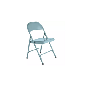 TURQUOISE FOLDING ADULT CHAIR