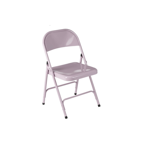 PINK FOLDING ADULT CHAIR