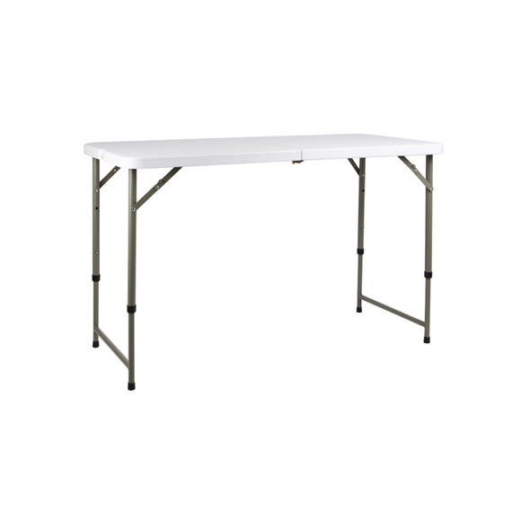 CHILD 4FT ADJUSTABLE HEIGHT TRESTLE TABLE