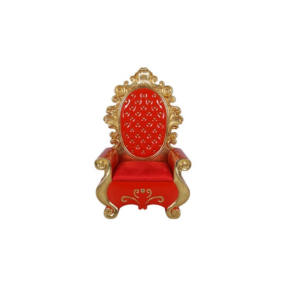 RED SANTA THRONE