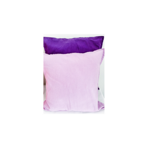 SELECTION OF PURPLE CUSHIONS
