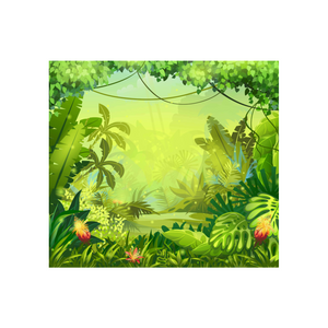 FOAMEX JUNGLE BACKDROP