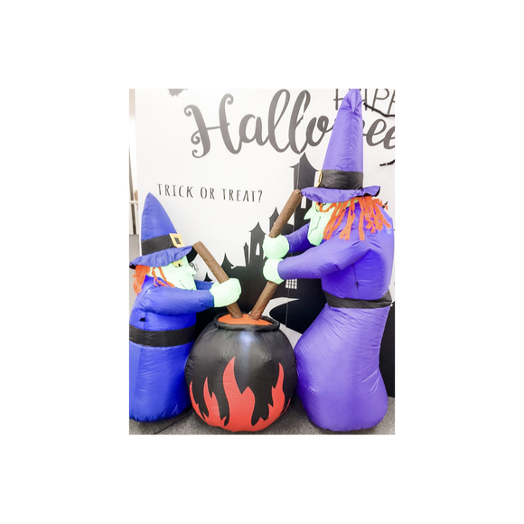 INFLATABLE WITCHES PROP