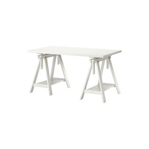 WHITE A-FRAME TABLE