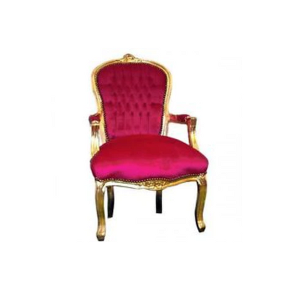 HOT PINK LOUIS CHAIR