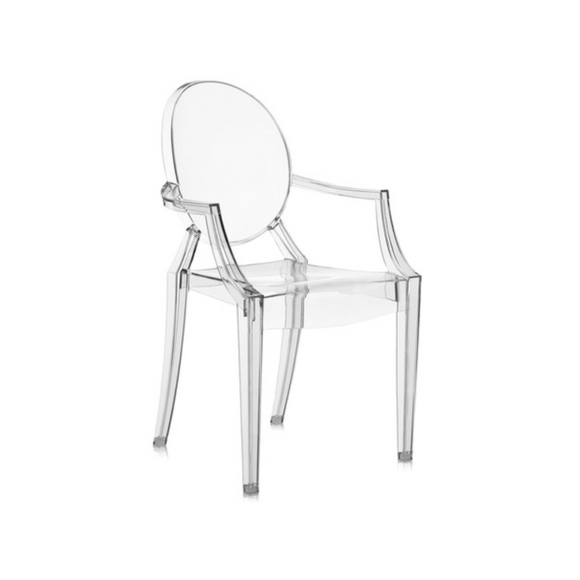 LOUIS GHOST ADULT CHAIR
