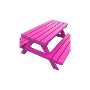 ADULT PICNIC BENCH - BRIGHT PINK