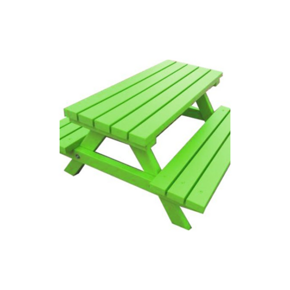 ADULT PICNIC BENCH - GREEN