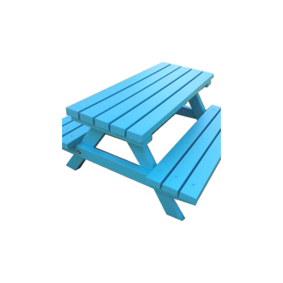 ADULT PICNIC BENCH - BLUE