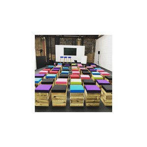 CUBE SEATING - VARIOUS COLOURS
