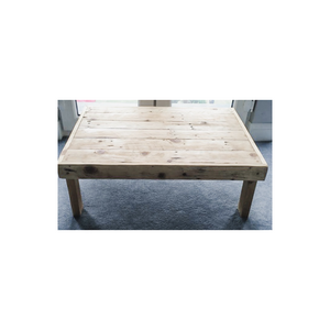 NATURAL LOW WOODEN TABLE