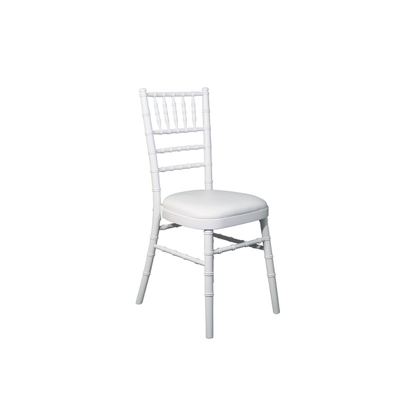 WHITE ADULT CHIAVARI CHAIR