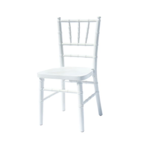 WHITE CHIAVARI CHILD CHAIR