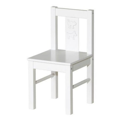 WHITE STANDARD CHILD CHAIR