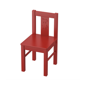 RED STANDARD CHILD CHAIR