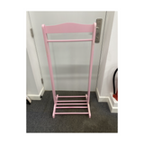 CHILDREN'S CLOTHES RAIL PINK OR WHITE