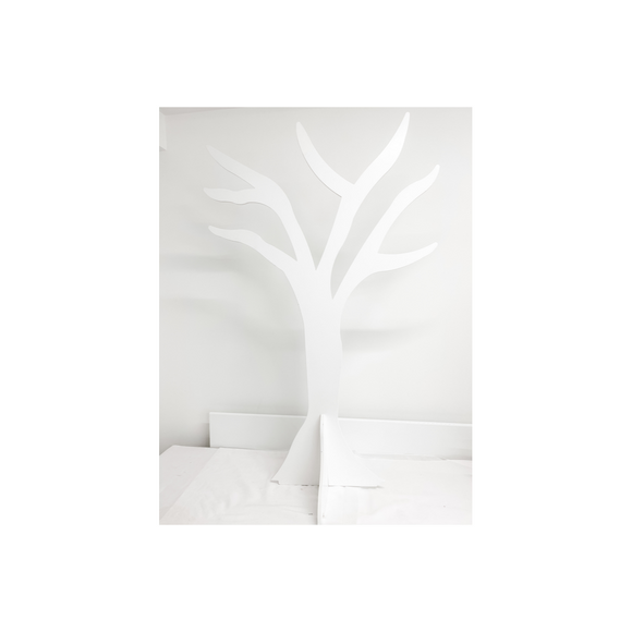 WHITE MDF FREESTANDING TREE