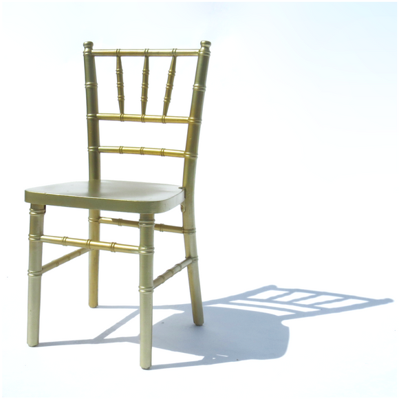 GOLD CHIAVARI CHILD CHAIR