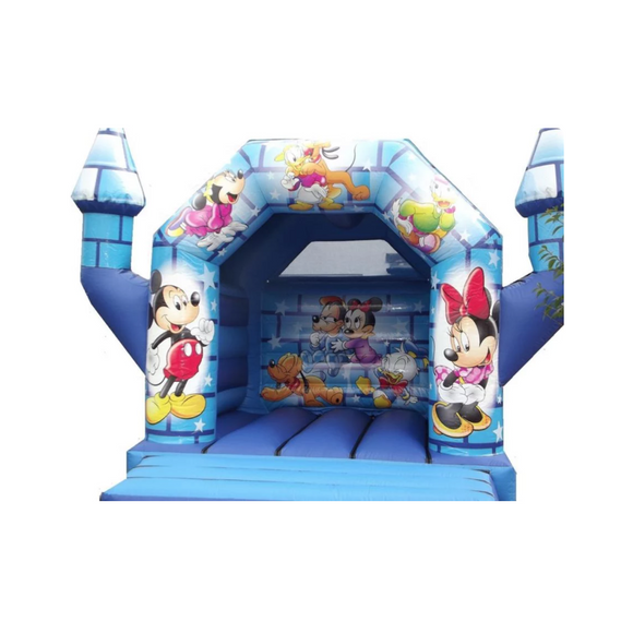 MICKEY MOUSE & MINNIE MOUSE BOUNCY CASTLE