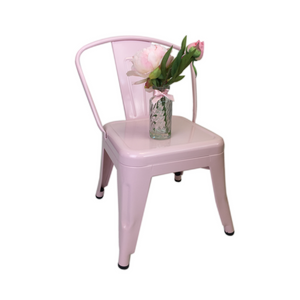 PINK METAL TOLIX CHILD CHAIR