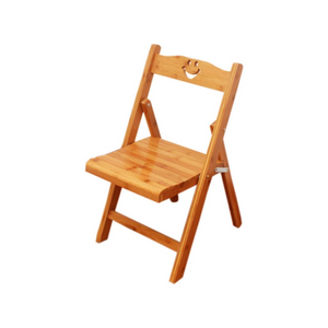 WOODEN FOLDING CHILD CHAIR