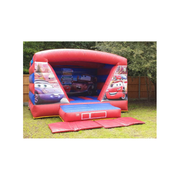 CARS BOUNCY CASTLE