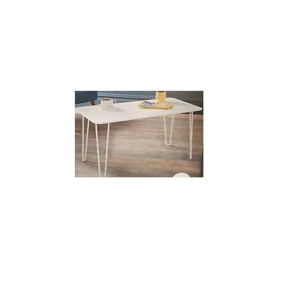 WHITE HAIRPIN CHILDREN'S TABLES