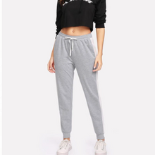 Load image into Gallery viewer, Cotton Loopknit track pants