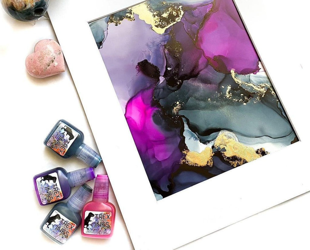 Alcohol Ink Paper