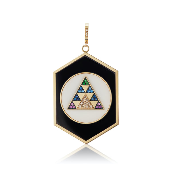 The Visionary Hexed Pendant