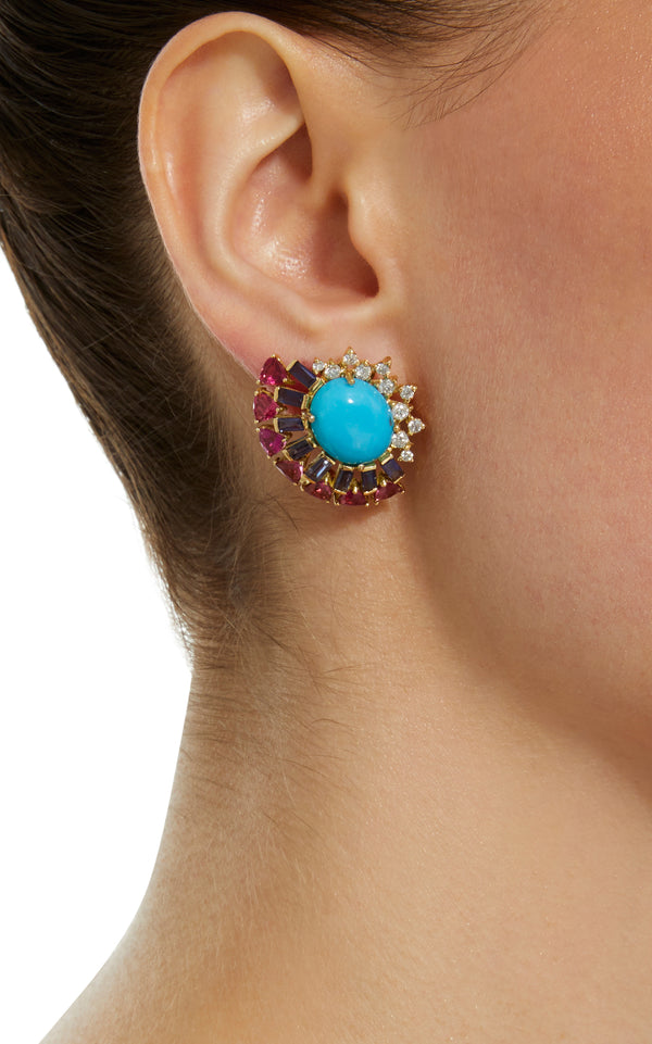Turquoise Magic Earrings