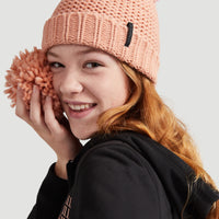 Mountain View Beanie | Salmon