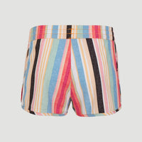 Anglet Board Short All Over Print | Yellow With Red