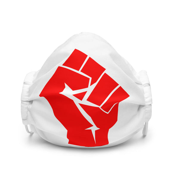 Socialist Raised Fist | Premium Face Mask