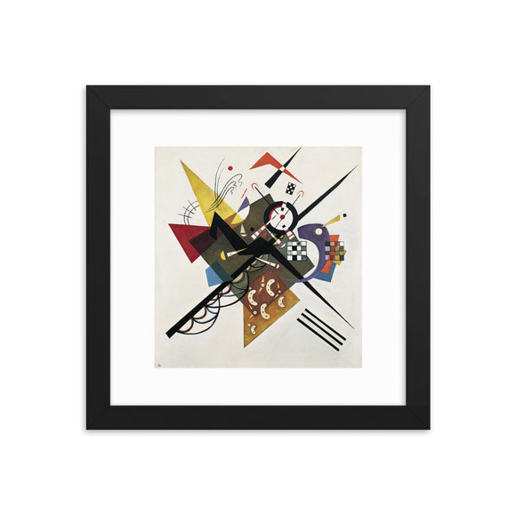 Vassily Kandinsky, On White II (1923) Framed Poster