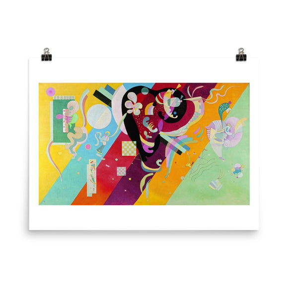 Vassily Kandinsky, Composition IX (1936) Painting Poster