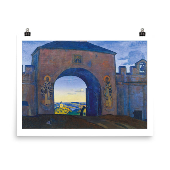 Nicholas Roerich, And We are Opening the Gates. From the