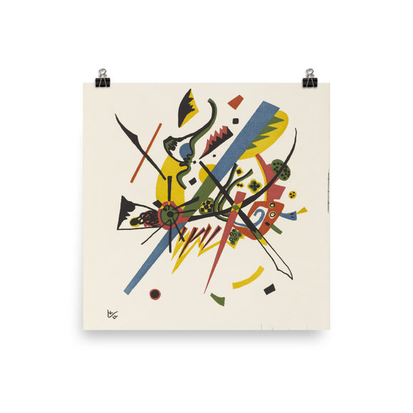 Vassily Kandinsky, Small Worlds I (1922) Painting Poster