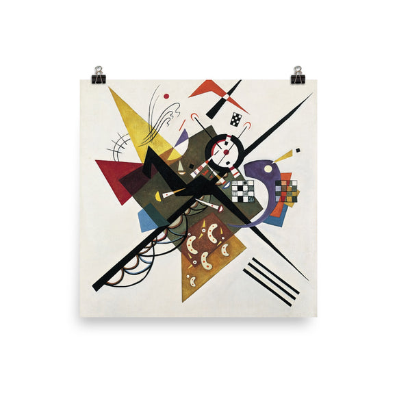 Vassily Kandinsky, On White II (1923) Painting Poster