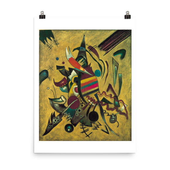 Vassily Kandinsky, Points (1920) Painting Poster