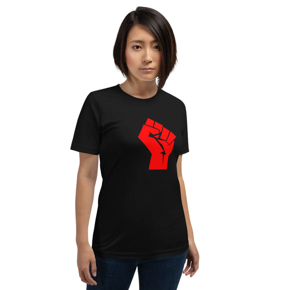 Socialist Raised Fist Women's T-Shirt