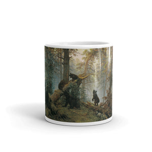 "Morning in a Pine Forest ""Russian Bears"" Mug"