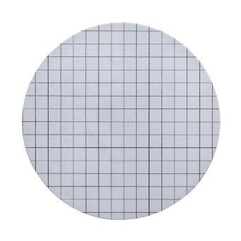 Whatman 10409772 Filter Circles, 50mm Dia, Mixed Cellulose Ester ME Range - ME 25/31, Gridded, Black/ White Grid 3.1mm, 0.45 micrometer Pore Size, Sterile, 100/pk (PN: 10409772)