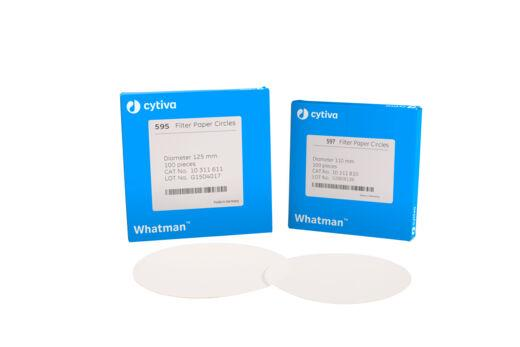 Whatman 10311862 Filter Circles, 12.7mm Dia, Grade 597, 1000/pk (PN:10311862)