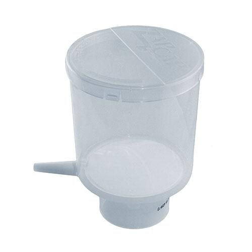 Whatman GVS 10443435 ZapCap-S PLUS Bottle top Filter, CA/GF 0.45 µm, 76mm filter diameter, 500mL Reservoir, Sterile