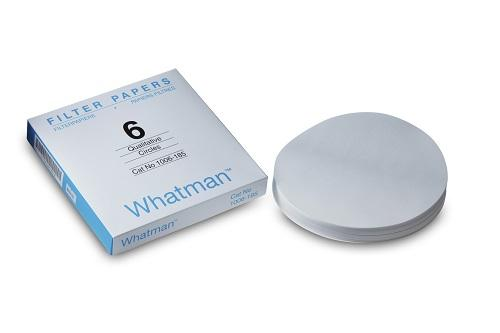 Whatman 1006-185 Filter Circles, 185mm Dia, Grade 6, 100/pk (PN:1006-185)